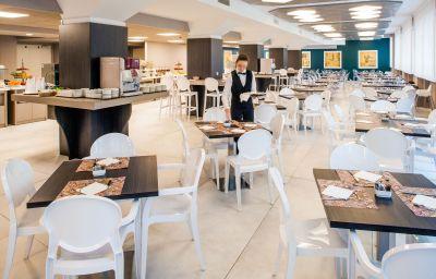 Salle du petit-déjeuner Da Vinci Milano