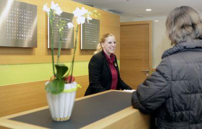 Lobby Best Western Plus Hotel Bahnhof