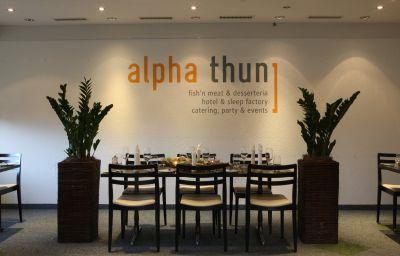 Restaurante alpha thun