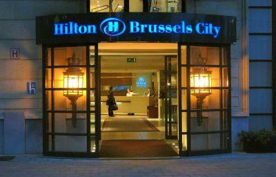 Vue extérieure Hilton Brussels City