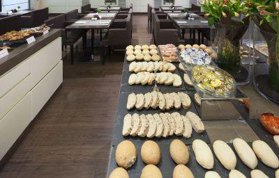 Buffet prima colazione NH Collection Milano President