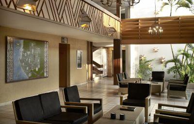 Hall de l'hôtel Le Meridien Mandji