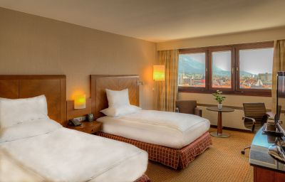 Double room (superior) Hilton Innsbruck