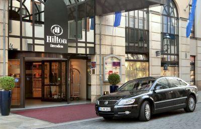 Vista esterna Hilton Dresden