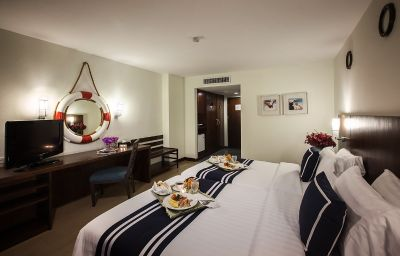 Chambre double (confort) A-One The Royal Cruise Pattaya (Chonburi)
