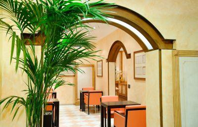 Sala lettura Novo Hotel Rossi