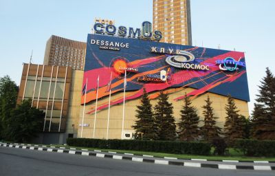 Фасад Cosmos Космос Moscow (Moscow)