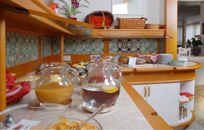 Bufet de desayuno Parkhotel Elisabeth