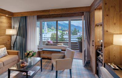 Junior suite Morosani Schweizerhof