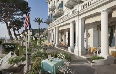 Vista esterna Grand Hotel Miramare