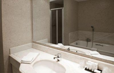 Salle de bains Damier
