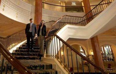 Hall de l'hôtel Conrad Istanbul Bosphorus