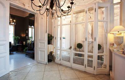 Lobby Hotel Gravensteen - Historic Hotels Ghent