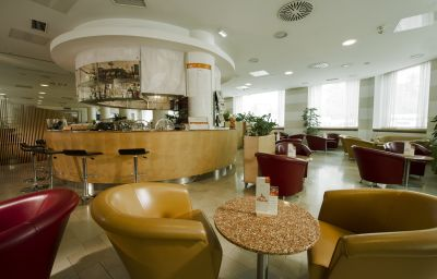 Bar de l'hôtel City Hotel Ljubljana