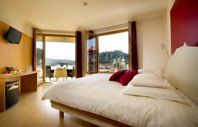 Chambre avec balcon City Hotel Ljubljana