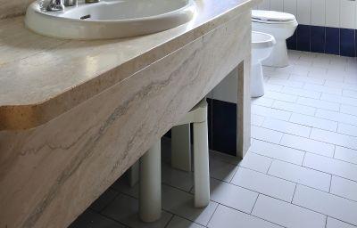 Salle de bains Villa delle Rose