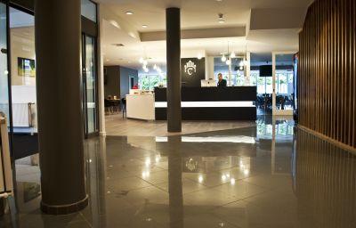 Hall de l'hôtel Corsendonk Viane