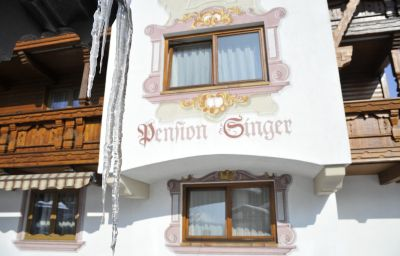 Exterior view Sportpension Singer Birgitz (Tyrol)