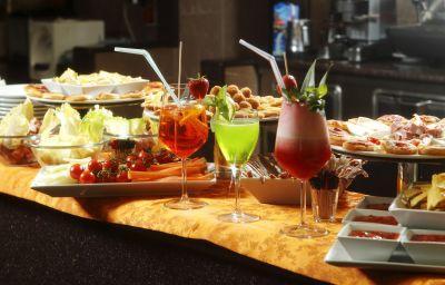 Bar de l'hôtel Molino Rosso
