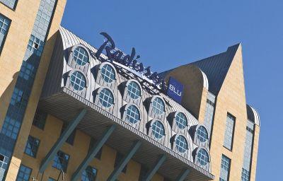 Vue extérieure Antwerp Radisson Blu Astrid Hotel