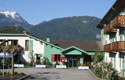 Vue extérieure BEST WESTERN Hotel Florimont