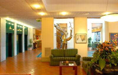 Hall de l'hôtel Della Rotonda