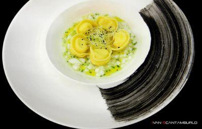 Cucina dell'hotel Villa Giustinian