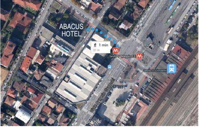 Schizzo del tragitto Abacus