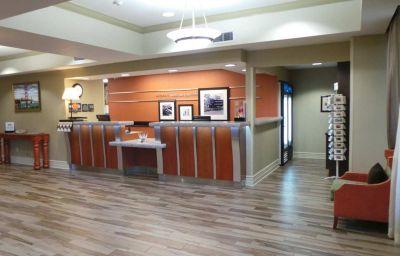 Hall de l'hôtel Hampton Inn San Francisco Airport