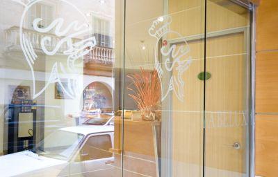 Interior del hotel Abelux