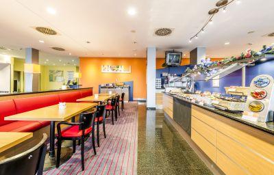 Breakfast room Holiday Inn Express FRANKFURT AIRPORT