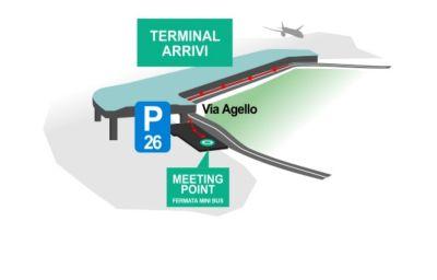 Schizzo del tragitto Golden Tulip Rome Airport