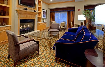 Vestíbulo del hotel Hampton Inn Albany-Western Ave/University Area