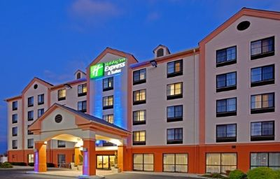 Фасад Holiday Inn Express & Suites MEADOWLANDS AREA Carlstadt (New Jersey)