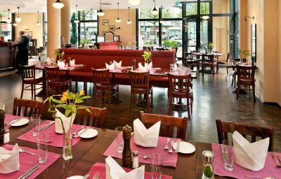 Restaurante/sala de desayunos InterCityHotel