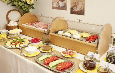 Buffet prima colazione Bergidyll