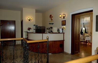 Hall de l'hôtel U Pana Cogito