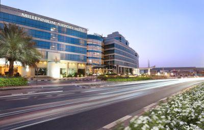 Vista exterior Millennium Airport Hotel Dubai