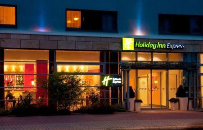 Außenansicht Holiday Inn Express FRANKFURT - MESSE