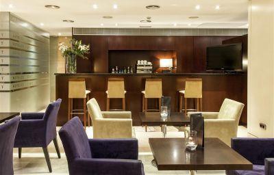 Bar de l'hôtel Zenit Coruña