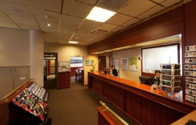 Hall de l'hôtel Best Western Leidse Square Hotel