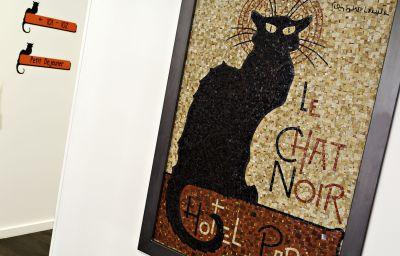 Vista interior Le Chat Noir