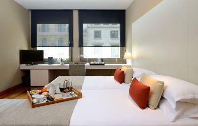 Chambre double (standard) Grand Hotel Central