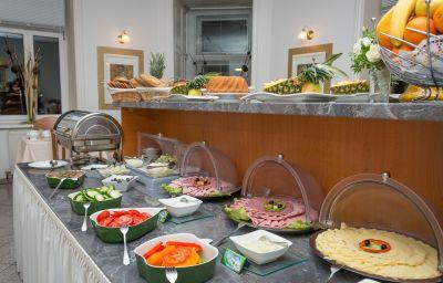 Buffet prima colazione Resonanz Vienna