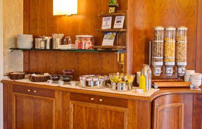 Buffet prima colazione Best Western Astrid