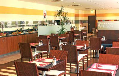 Sala de desayuno Star Inn Hotel München Schwabing
