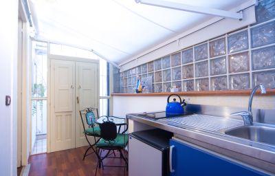 cuisine dans la chambre Aretusa Vacanze