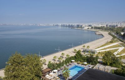 Vista esterna Makedonia Palace Thessalonika (Makedonien)