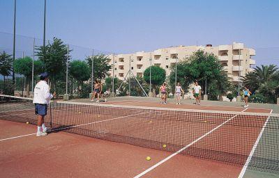 Campo da tennis Paradise Beach Resort