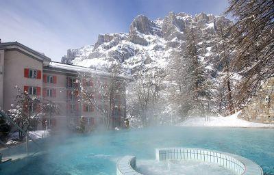 Vue extérieure Les Sources Des Alpes